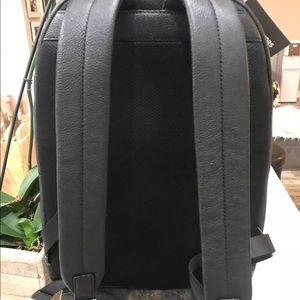 bbc939924f54 Michael Kors Bags - Men's Russel Mixed Material Backpack Bookbag Black